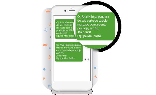 SMS Lembrete de Agendamento